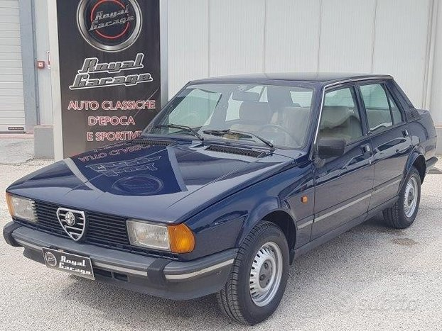 Alfa romeo giulietta 1.6 l 2°s. -uni pro - - 1982