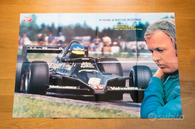 Poster RONNIE PETERSON