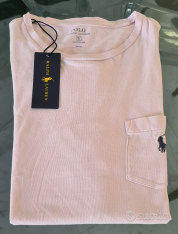 Polo Ralph Lauren T-Shirt Small CF Originale Nuova