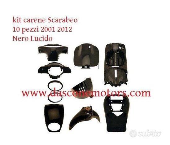 Kit carene Aprilia Scarabeo 50 100 2001 2012 Nero
