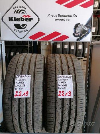 Rif.2219 2 pneumatici usati 275/40 r20 hankook