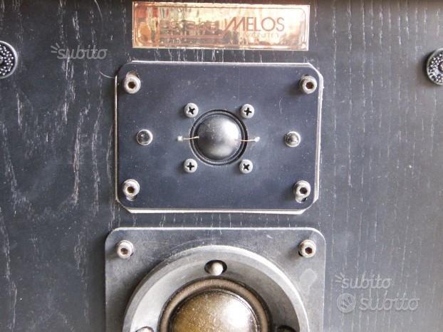 MELOS-MONITOR 345- RR CASSE INGLESI-anni 80