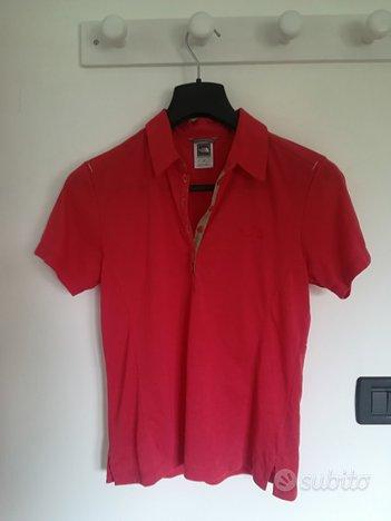 Maglietta rossa da donna originale The North Face