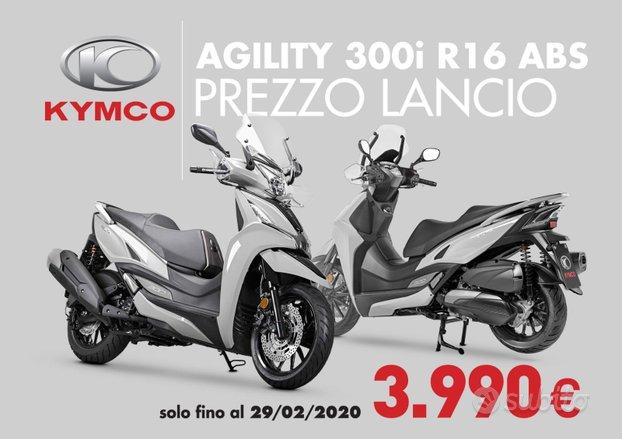 Kymco AGILITY 300 ABS PREZZO SHOCK