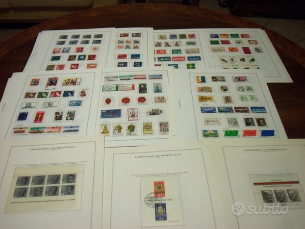 Germania collezione usata completa 1964/1993