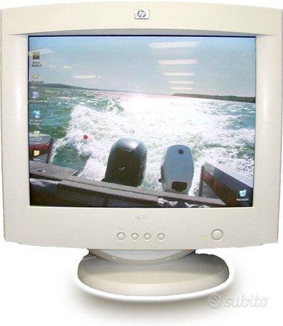 Monitor CRT 17 pollici modello HP 72