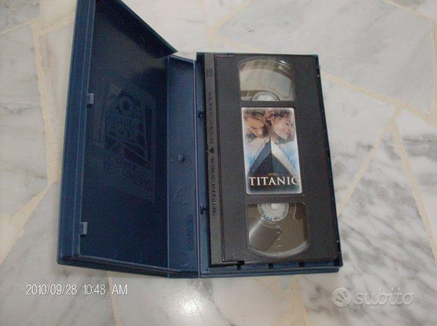 VHS di Titanic e La vita è bella