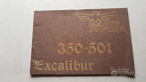 Moto Morini 350 501 Excalibur manuale uso original