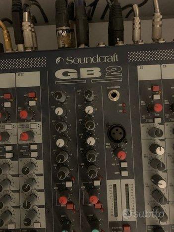 Mixer analogico SOUNDCRAFT GB2