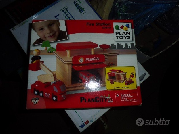 Plan Toys City Fire Station 608400