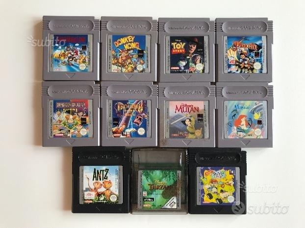 Game Boy Color + giochi