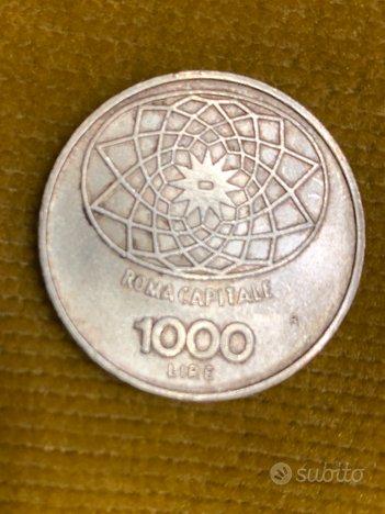 1000 Lire argento 1970 Concordia