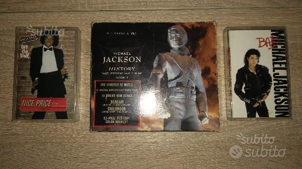 Michael Jackson, musicassette