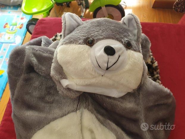 Vestito carnevale orsetto 3/4 anni