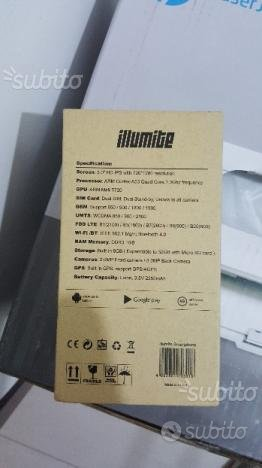 Telefonino illumite Dual Sim 4G