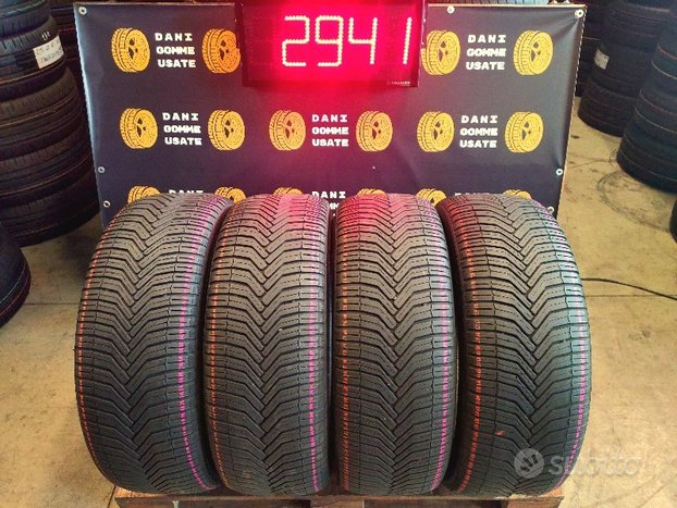 4 Gomme 235 55 18 4 Stagioni Michelin 60/70%