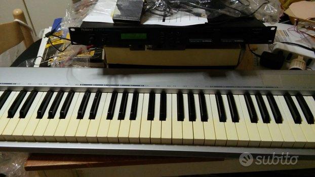 Tastiera M-Audio ES 88 USB   MIDI Roland U-110l