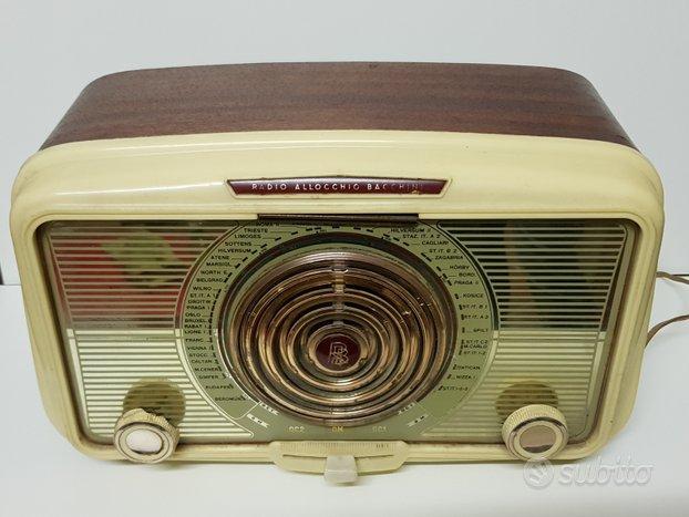 Radio a valvole Allocchio Bacchini