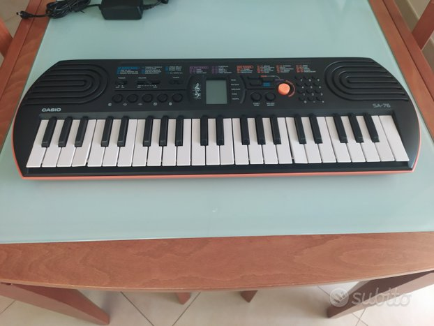 Pianola Casio SA-76