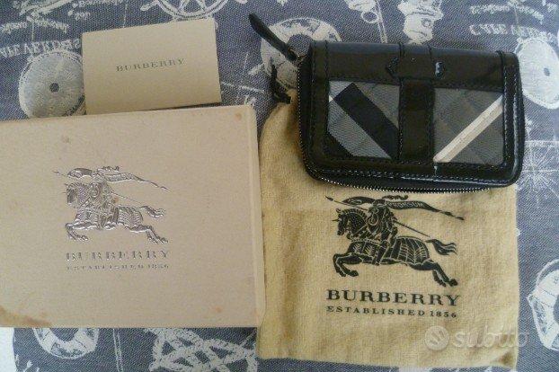 Portafogli burberry