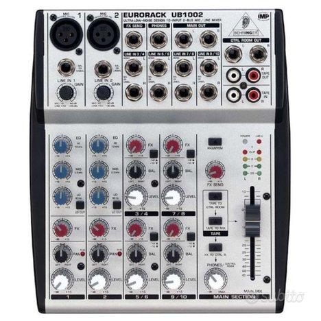 BEHRINGER Mixer 10 canali