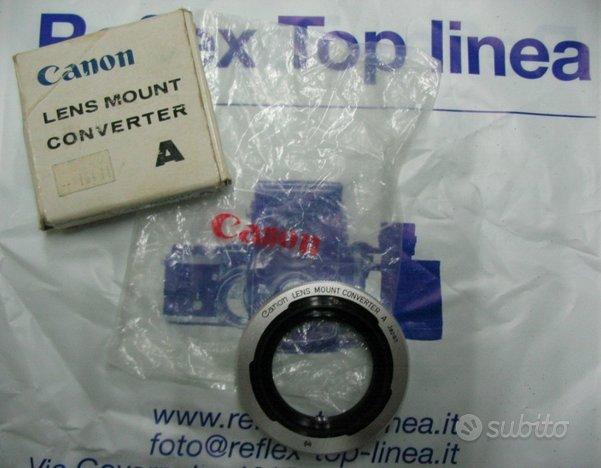 Canon Lens Mount Converter A