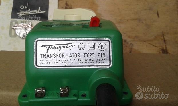 Coppia di trasformatori per vecchi treni elettrici