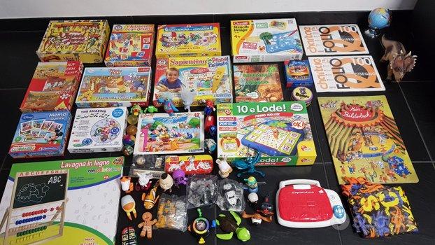 Lotto giochi per bambini 3 - 6 anni