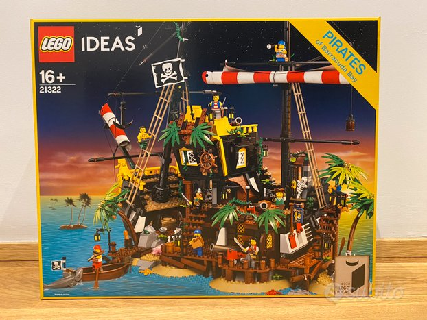 LEGO Barracuda Bay - 21322 MISB