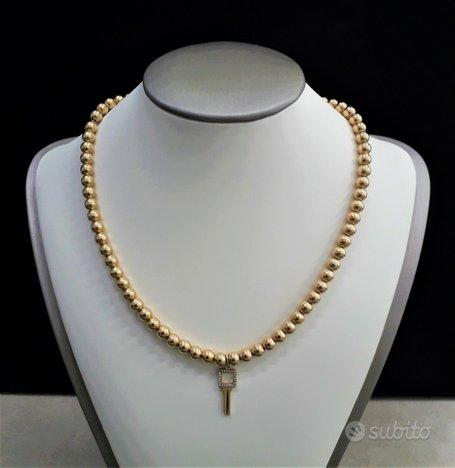 Collana Tiffany in oro 18k con pendente Modern Key
