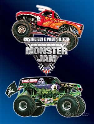 Monster jam - completo mai usato