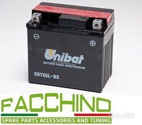 Cbtx5l-bs batteria moto unibat