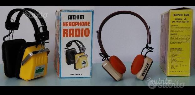 Radiocuffie Renault e Monita anni '70/80