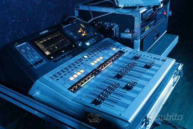 Mixer Digitale Yamaha TF1 con Flight Case