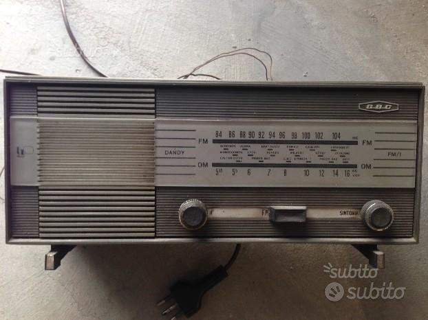 Radio A Valvole Gbc