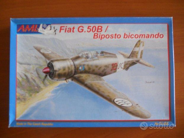 Fiat g.50b/biposto bicomando scala 1/72