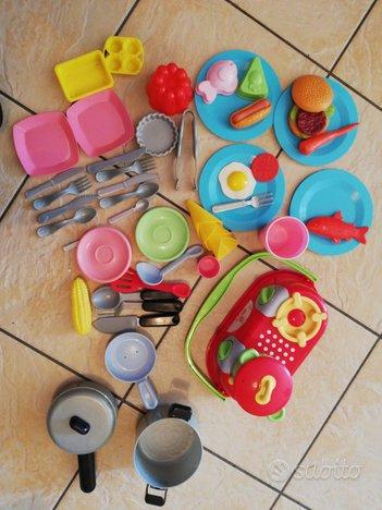 Cucina gioco immaginarium con accessori