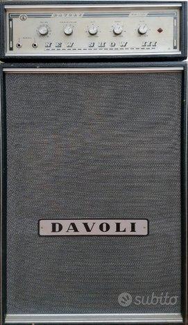 Amplificatore valvolare DAVOLI New Show III