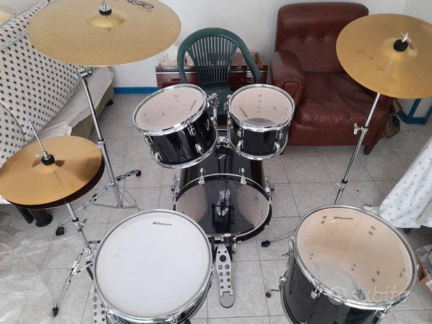 Batteria MILLENIUM FOCUS 20 drum set completo