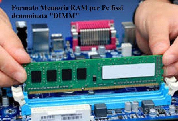 Memoria RAM DDR1-DDR2-DDR3 PC DESKTOP / NOTEBOOK