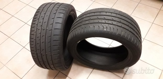 Gomme continental 265-40 zr 18