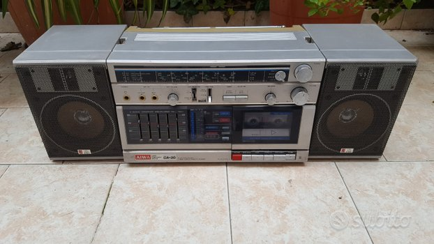 Radio stereo a cassette