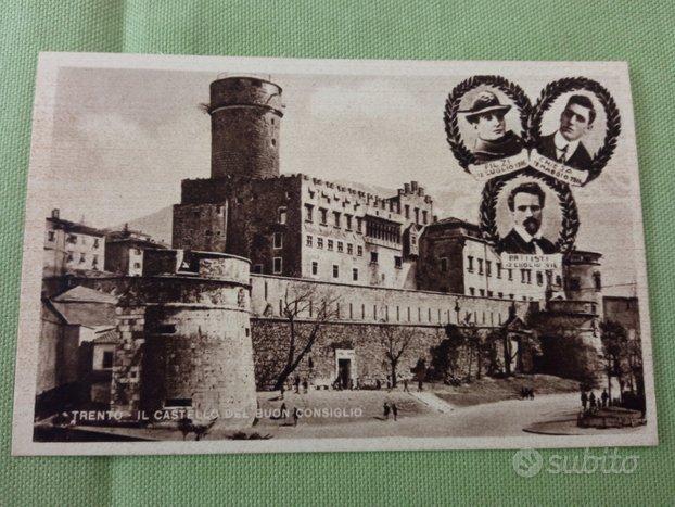 Cartolina Treno Castello Buon Consiglio