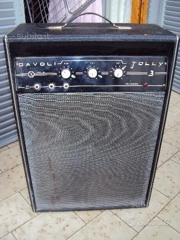 Amplificatore davoli jolly anni '60/70
