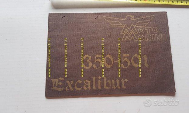 Moto Morini Excalibur 350-501 manuale uso original