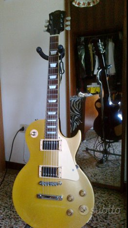 Chitarra SX Gold Top Les Paul