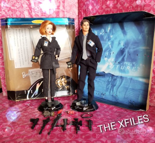 Barbie & Ken The Xfiles giftset Collector Edition