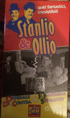 Video cassette Stanlio e Ollio
