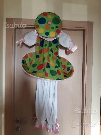 Vestito di Carnevale Pagliaccetto