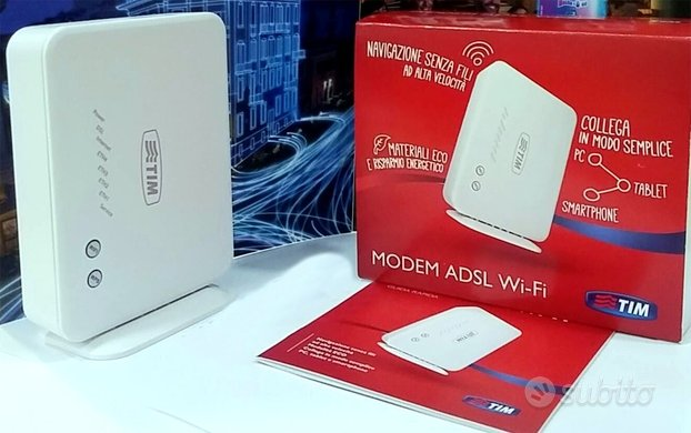 Modem ADSL2 Wi-Fi TIM Telecom Italia